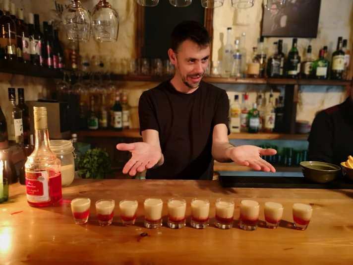 Warche Sergio birthday bartender